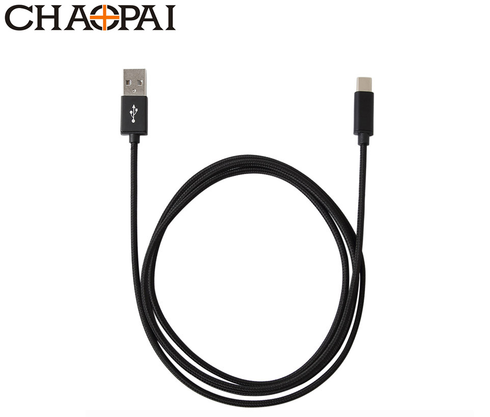 Nylon Aluminum Alloy USB A 2.0 to C CABLE